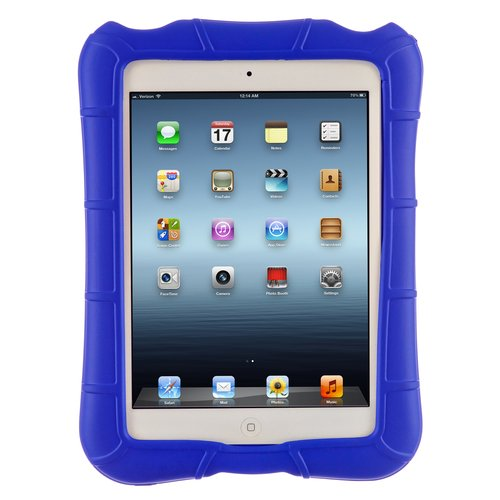 M-Edge SuperShell for Apple iPad Mini and Mini 2 - Blue