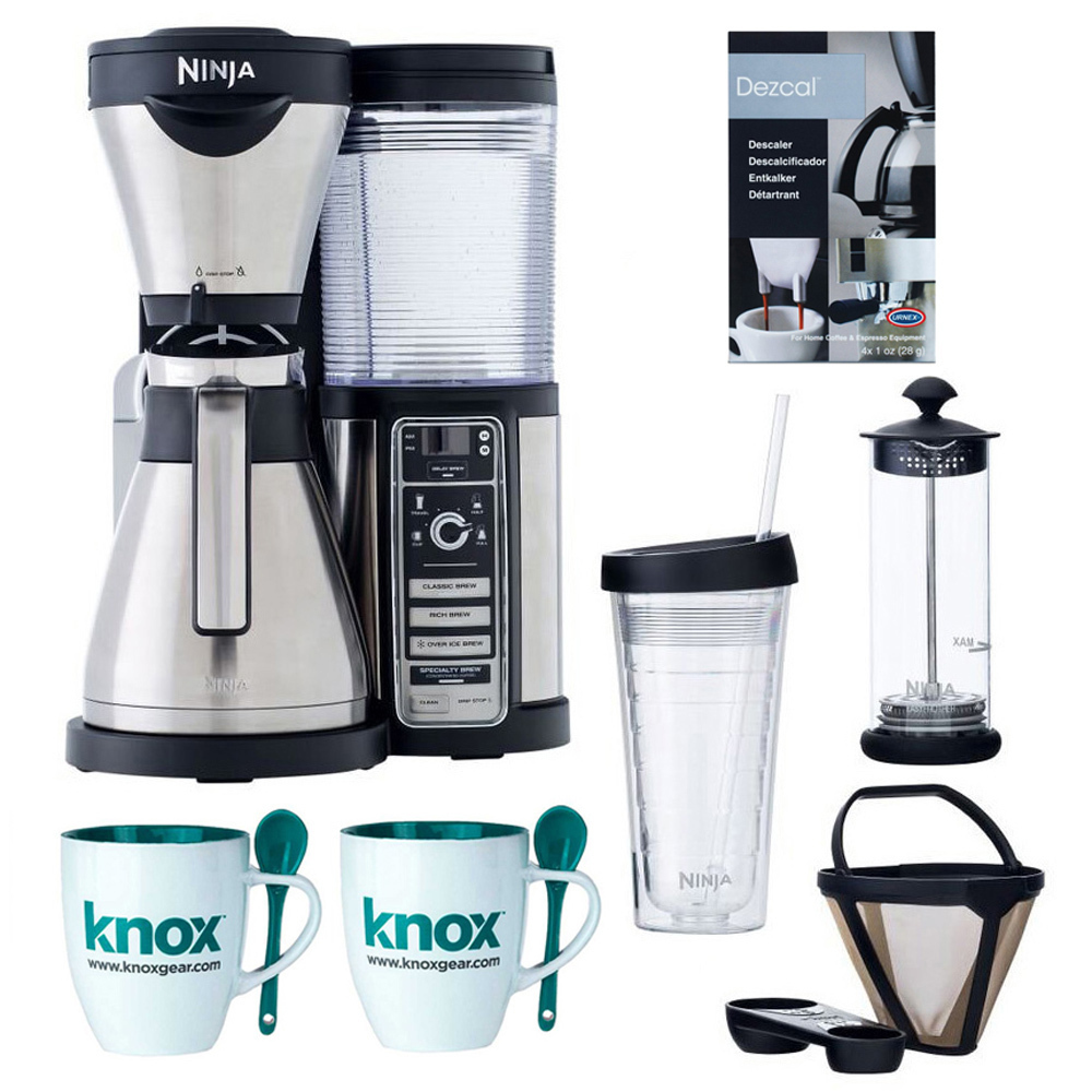 Ninja Coffee Bar Brewer with Thermal Carafe and Accessory Bundle