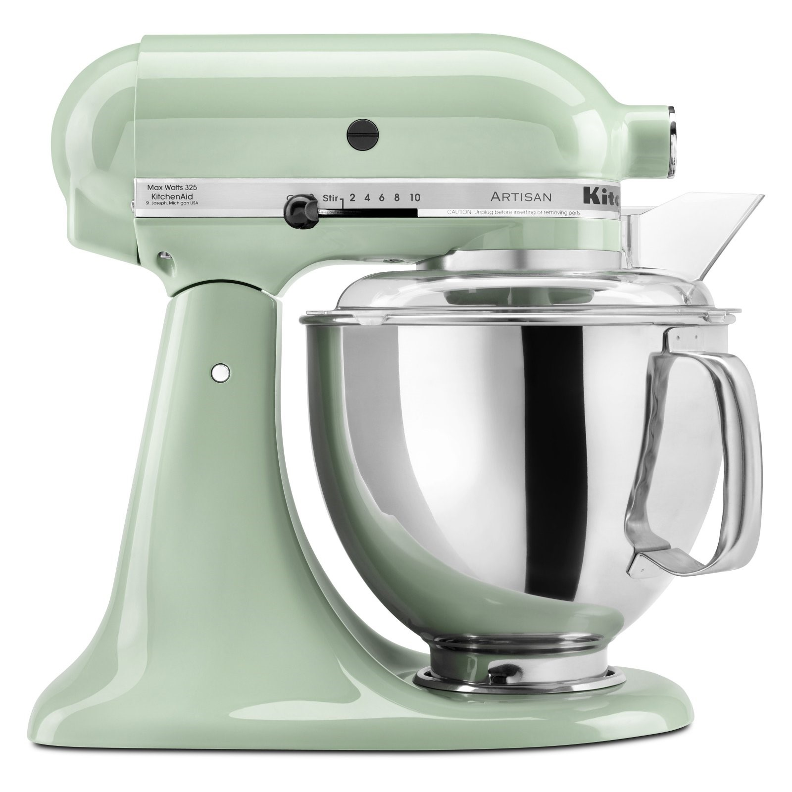KitchenAid Artisan Series 5-Quart Tilt-Head Stand Mixer, Red (KSM150PSER)