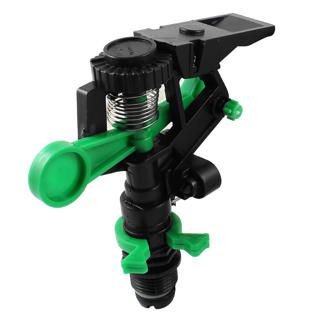 Agriculture Plant Adjustable Irrigation Plastic Sprayer Nozzle Black Green