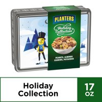 Planters Holiday Collection Tin Box With Mixed Nuts, 17.0 oz Box
