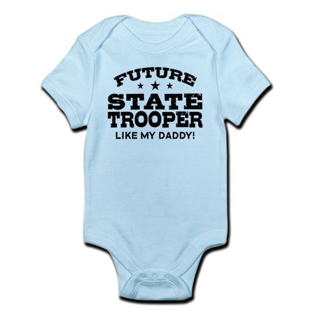 CafePress - Future State Trooper Infant Bodysuit - Baby Light Bodysuit