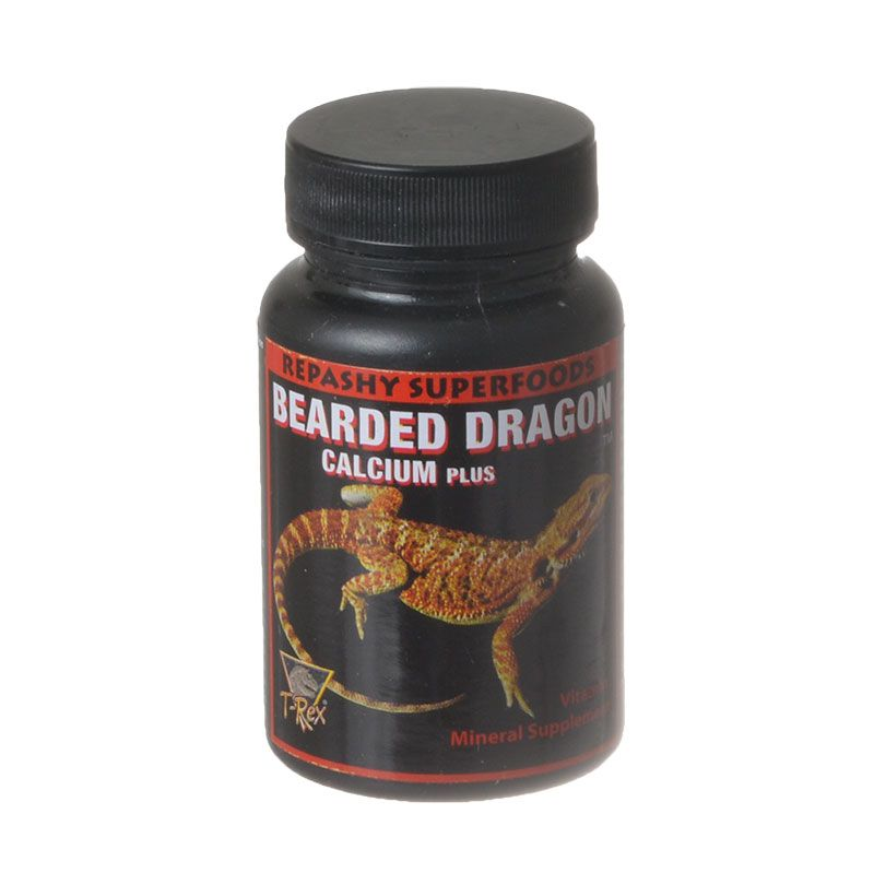 T-Rex Bearded Dragon Calcium Plus Superfood 1.75 oz - Pack of 2