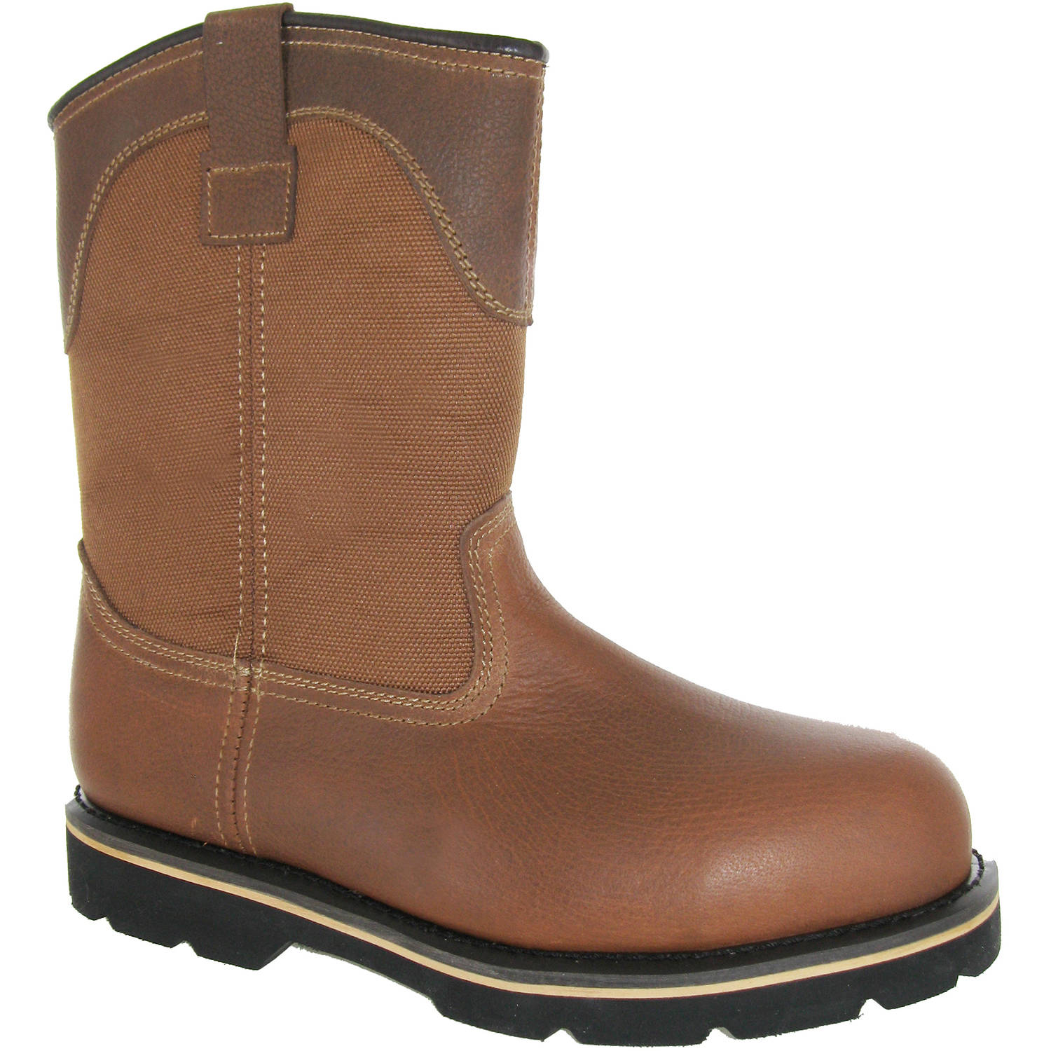 Men's Bay Steel Toe Pull On Work Boot