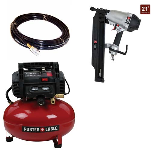 Porter Cable Factory Reconditioned C2002R 6 Gallon Portab...