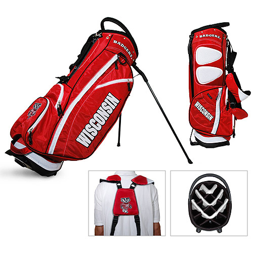 Team Golf NCAA Wisconsin Fairway Golf Stand Bag by Generic