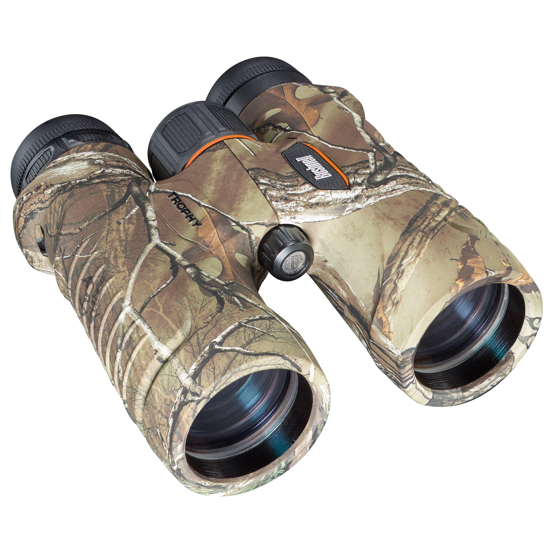Bushnell Trophy Binoculars 10x28mm, Green Roof Prism by Bushnell