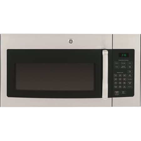 GE 1.6 CU. FT. OVER-THE-RANGE MICROWAVE OVEN, STAINLESS, 1000 WATTS