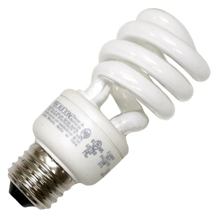 TCP 07902 - 80101441 Twist Medium Screw Base Compact Fluorescent Light - Tcp Compact Fluorescent