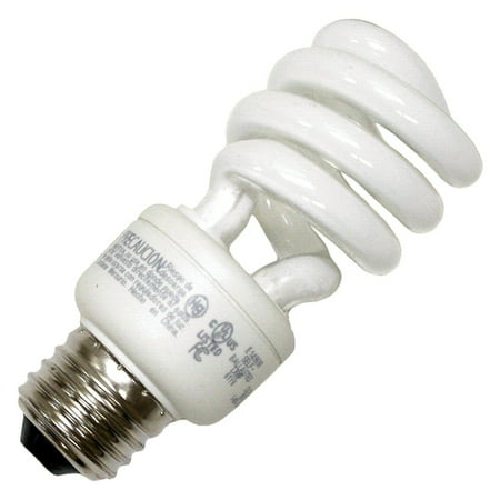 TCP 07902 - 80101441 Twist Medium Screw Base Compact Fluorescent Light Bulb Medium Fluorescent Green