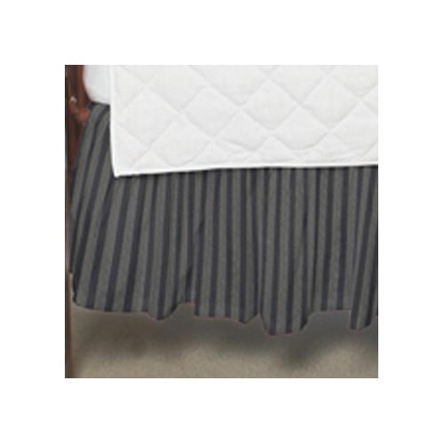 Patch Magic Striped Fabric Crib Dust Ruffle by Patch Magic