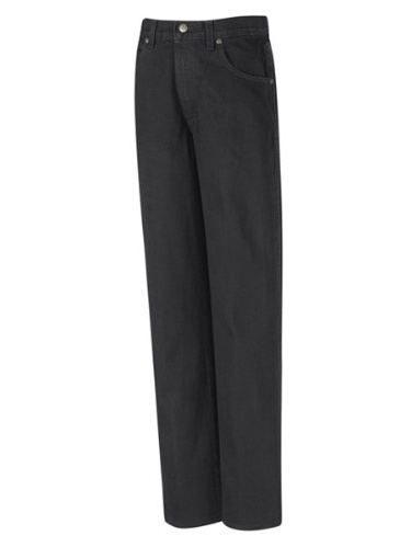 PD60 Men's Relaxed Fit Jean Prewashed Black 40W x Unhemmed