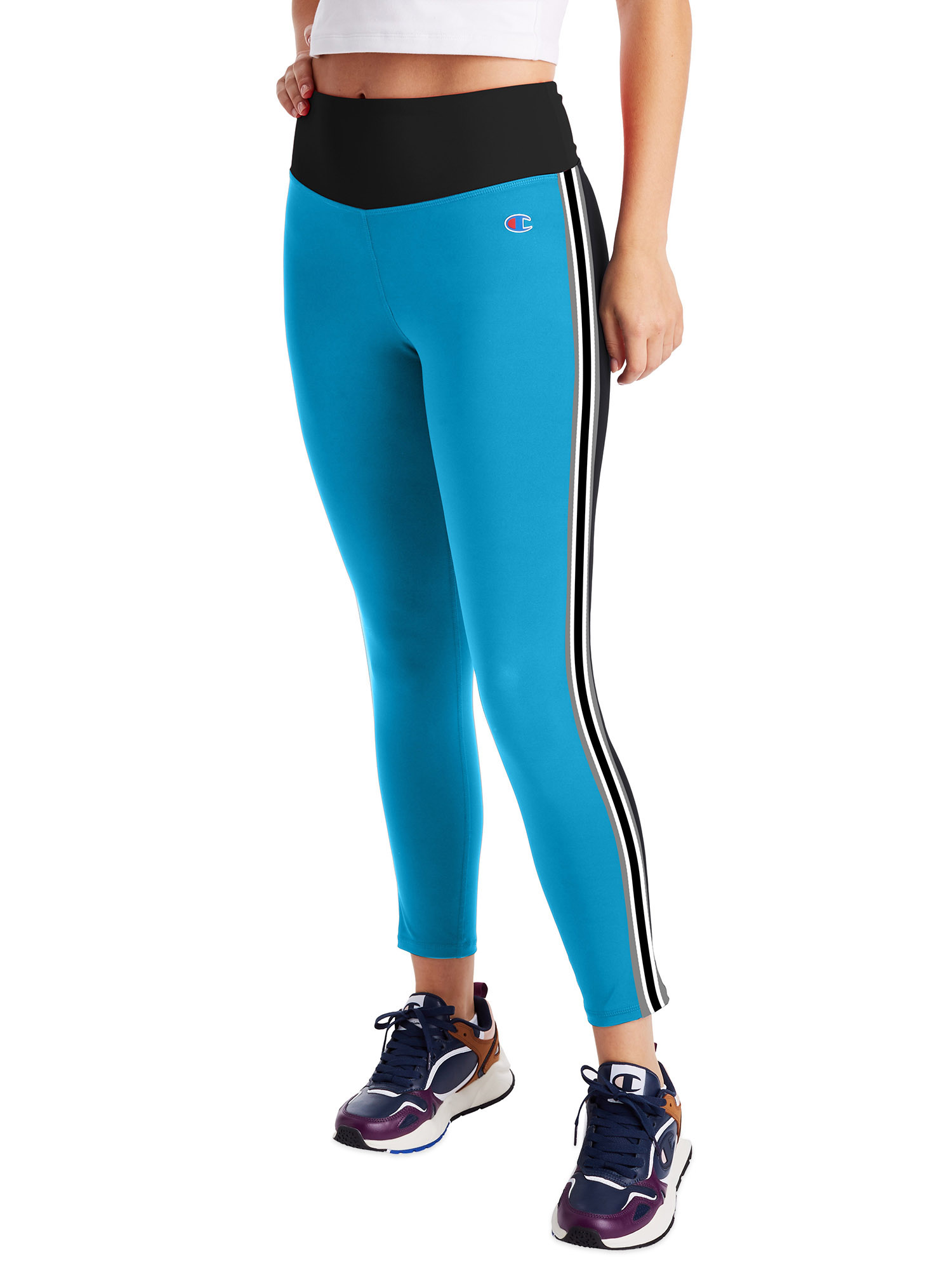 Champion Champion Women S High Rise Legging Tights Walmart Com Walmart Com