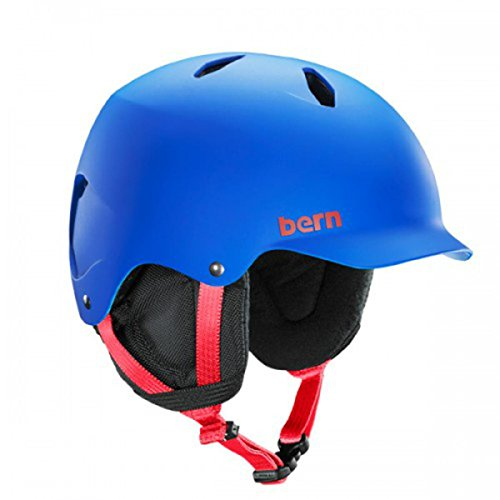 Bern Bandito Helmet Youth-Cobalt Blue-M L by Bern