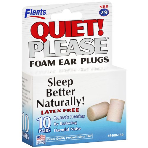 Flents: Plugs Quiet Please! Foam Ear, 10 Pr