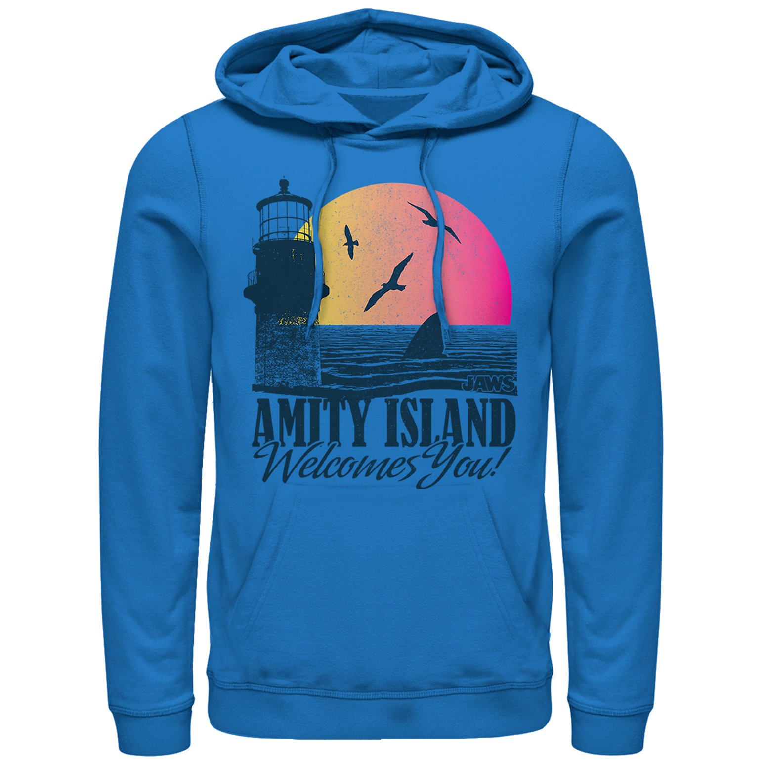 Jaws Men's Amity Island Tourist Welcome Hoodie