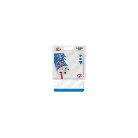 Product of Dairy Queen $45 Multi-Pack - 3/$15 Gift Cards - [Bulk Savings]