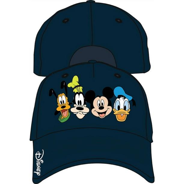 Disney Disney Adult Crazy 4 Mickey Goofy Donald Pluto Baseball Hat Walmart Com Walmart Com