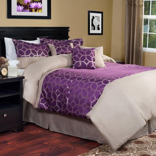 Somerset Home 7-Piece Aria Bedding Comforter Set