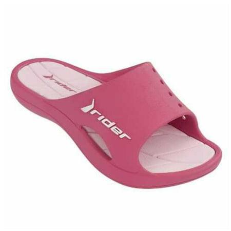 38aac8b4b Rider - Rider Kid s Bay II Slide Sandal (Pink Kids Size 3) - Walmart.com