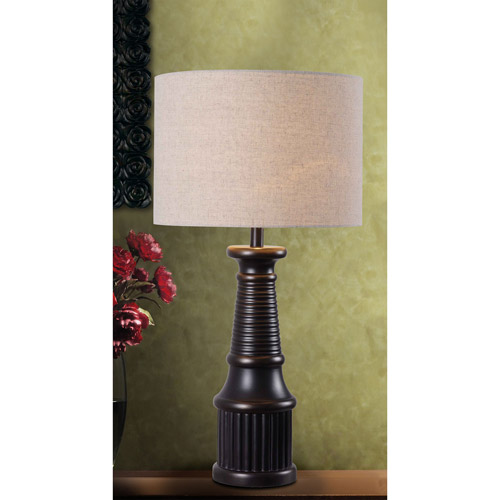 Kenroy Home Round-A-Bout Table Lamp, Oil Rubbed Bronze