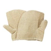 NATIONAL SAFETY APPAREL M59ZPXX10 Heat Resistant Mitten,Tan,ZetexPlus,PR