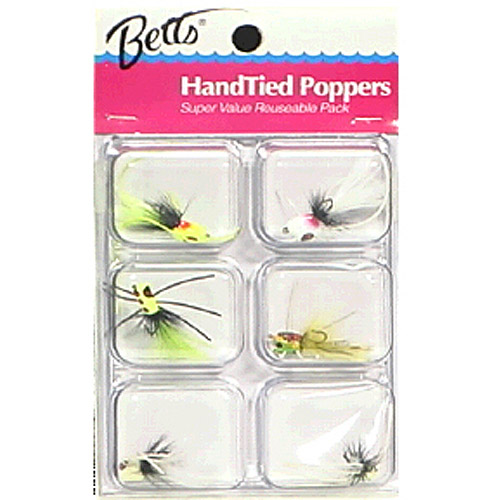 Betts 6pc Popper Tackle Pack