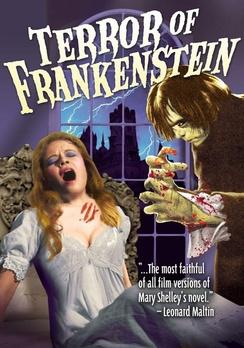 Terror of Frankenstein DVD by