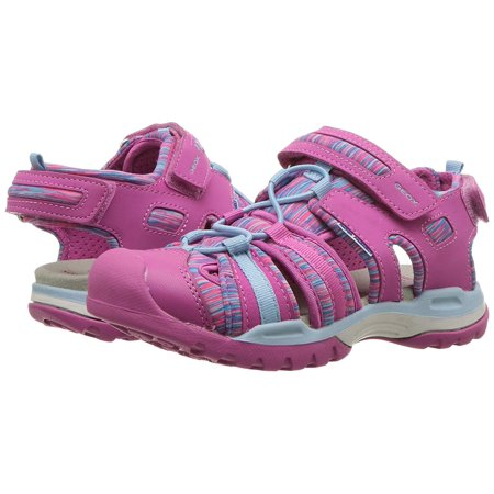 - Kids Geox Girls Borealis Low Top Lace Up Hiking Shoes