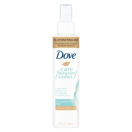 Dove Care Between Washes Restyler Re-Hydrating Mist 6.1 oz