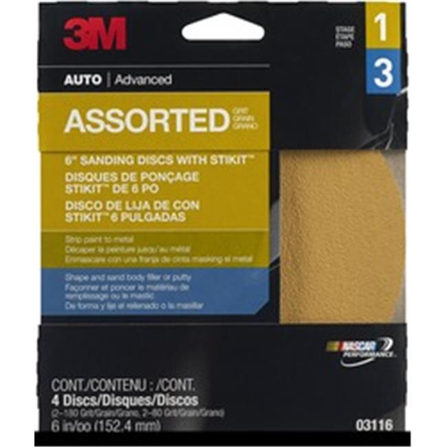 3M-3116 Adhesive Backed Sanding Disc