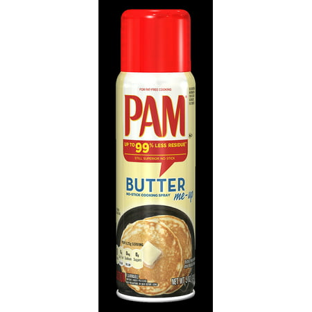 Fat Free Butter Spray - PAM Butter Cooking Spray, 5 Ounce