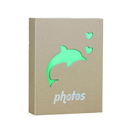 Kraft Photo Album Hold 100 Pockets, 5