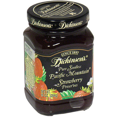 Dickinson's Seedless Pacific Mountain Preserves, 10 oz (Pack of 6)