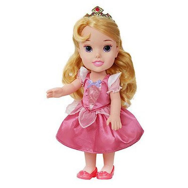 "13"" Disney Princess Toddler Doll - Aurora (Styles May Vary)"