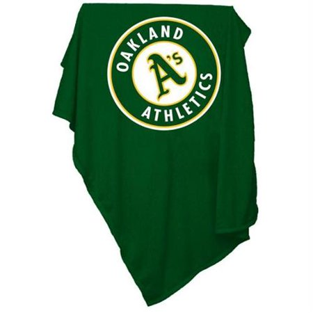 Oakland Athletics Official Sweatshirt Blanket by Logo Chair Inc. by