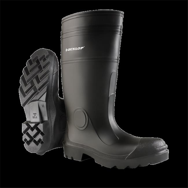 Dunlop - TINGLEY Rubber Blk Steel Toe