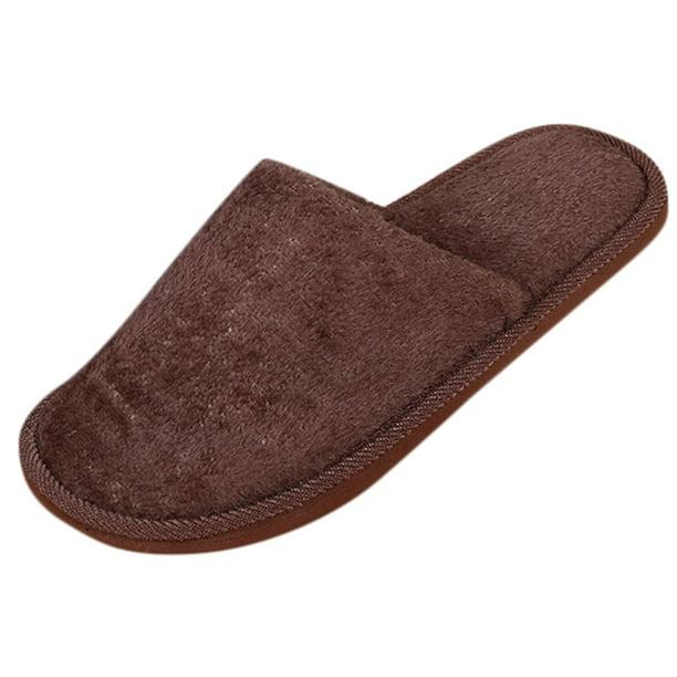 Aimik - Aimik Men Warm Home Plush Soft Slippers Indoors ...