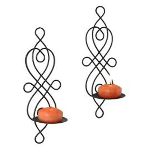 Danya B Wire Twisted Candle Sconce (Set of 2)