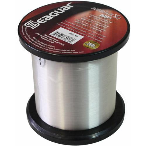 Seaguar AbrazX 100 Percent Fluorocarbon Line, 1000 yd