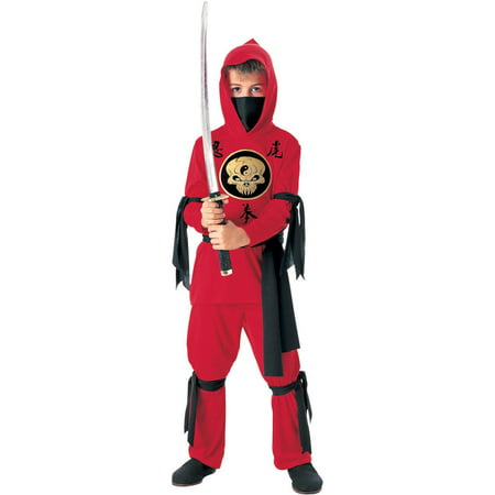 Kid's Red Ninja Costume