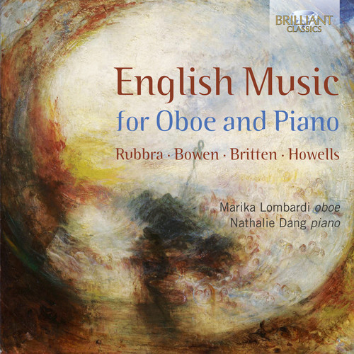 English Music for Oboe & Piano by BRILLIANT CLASSICS