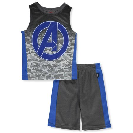 Marvel Avengers Boys' 2-Piece Shorts Set Outfit](Avengers Outfits)