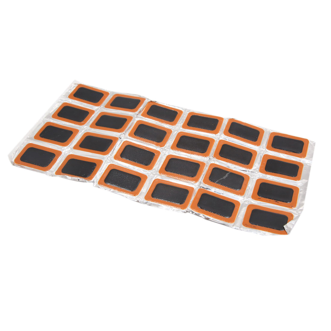 24pcs Tire Tyre Puncture Patches Repairing Tool 34mm x 25mm for Bicycle Bike