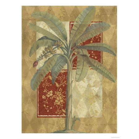 Harlequin Banana Palm Print Wall Art