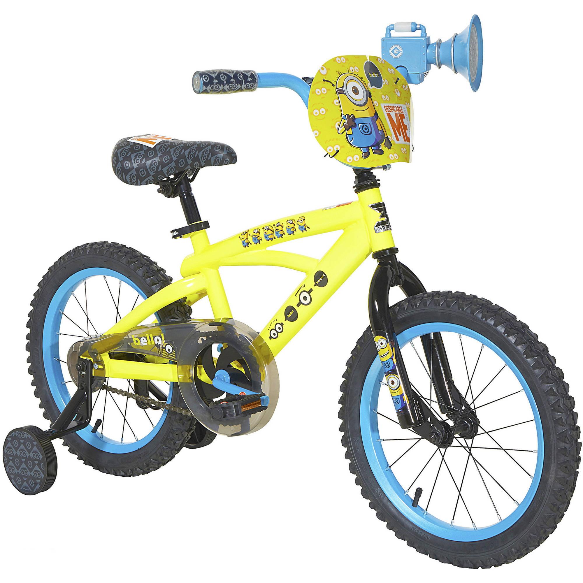 """Dynacraft 16"""" Boys' Minions Bike"""
