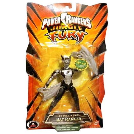 Fury Bat (Power Rangers Jungle Fury Sound Fury Bat Ranger Action)