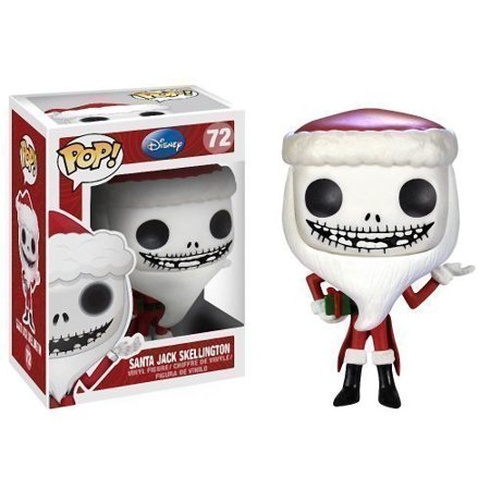 Santa Jack Skellington: ~4 POP! Tim Burton's The Nightmare Before Christmas Vinyl Figure by The Nightmare Before Christmas, By Funko - Santa Pop