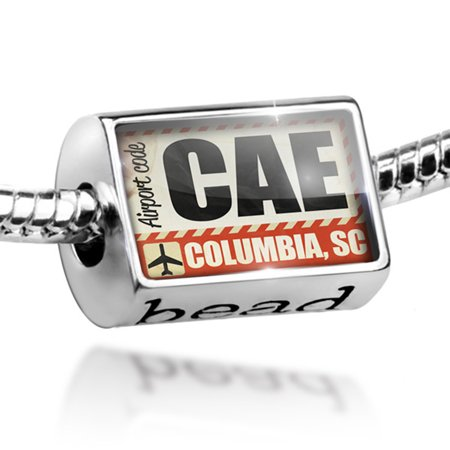 Bead Airportcode CAE Columbia, SC Charm Fits All European Bracelets](Express Columbia Sc)