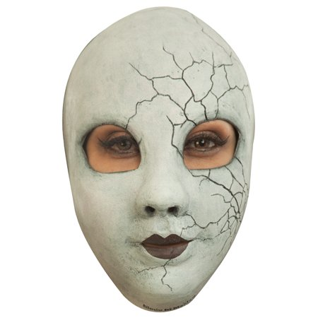 Creepy Doll Face Adult Mask](Ghoulish Halloween Faces)